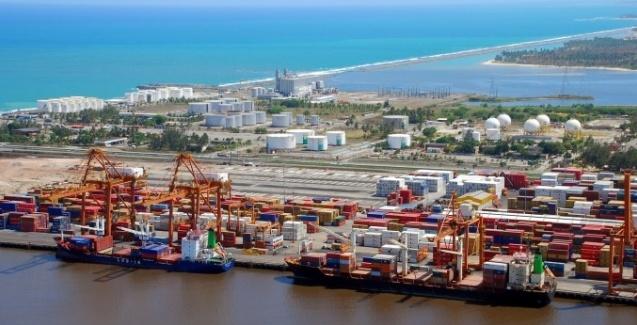 A movimentação dos terminais portuários privados brasileiros cresceu 6,8% no segundo trimestre de 2020, quando comparado