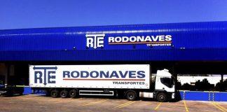 A RTE Rodonaves adquiriu 118 veículos no primeiro trimestre de 2019.