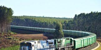 Carga movimentada por trens até portos do PR cresce 15%