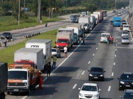 De acordo com o índice ABCR referente a julho, o fluxo de veículos pesados cresceu 2,1%. Por outro lado, os números totais registraram queda de 0,1%