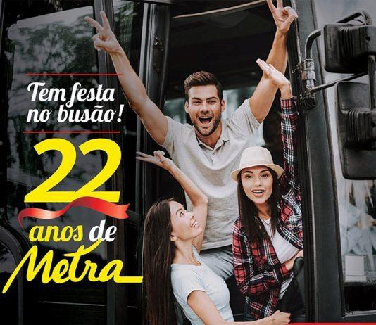 Com a recente introdução de 25 novos ônibus e um serviço dinâmico, a Metra comemora neste mês de maio 22 anos de atividades.