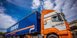 A Joanini transportes, empresa especializada em transporte rodoviário de cargas, está com uma nova identidade digital