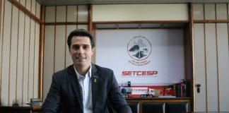 O presidente do Setcesp, Tayguara Helou cobrou um posicionamento firme do governo em relação a recente suspensão da tabela do frete