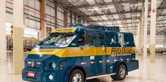 A VW Caminhões e Ônibus apresenta novo chassi para carro-forte, o 9.160 CE. O modelo disponibiliza a utilização da transmissão automática