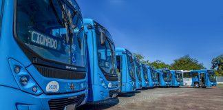 A Volkswagen acaba de entregar os primeiros Volksbus 17.230 OD ao sistema de transporte no Espírito Santo. Os veículos são parte de um lote de 79 ônibus