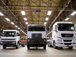 De acordo com dados globais O Grupo TRATON SE, em seus Negócios Industriais, vendeu 242.200 veículos das marcas MAN