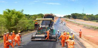 O ministério da infraestrutura divulgou segunda, 15, a carteira com projetos de obra até 2022.