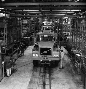 Volvo N10 em produção