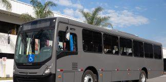 A Marinha do Brasil adquiriu por meio de pregão eletrônico 40 unidades do ônibus urbano NEOBUS New Mega.