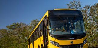 A Volkswagen lança ao mercado um novo chassi de ônibus que permite o encarroçamento com 15 metros. Dessa forma, a montadora acredita que os veículos