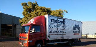 O Grupo Martins, transportador do segmento varejista, acaba de adquirir 74 caminhões do novo lote Delivery. As novas unidades serão entregues em Uberlândia