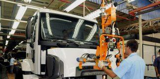 A produção de caminhões no Brasil cresceu 39% em junho em relação a maio. Ao todo, foram fabricados 5,6 mil caminhões no País