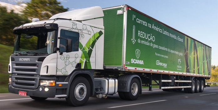 A Scania vai começar a produzir caminhões movidos a biometano na fábrica de São Bernardo em Campo. Com isso, a montadora pretende