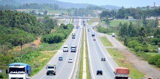 O trecho entre Porto Alegre e Florianópolis terá oito praças de pedágio devido à concessão da BR-101 Sul, emSanta Catarina, prevista para 2020.