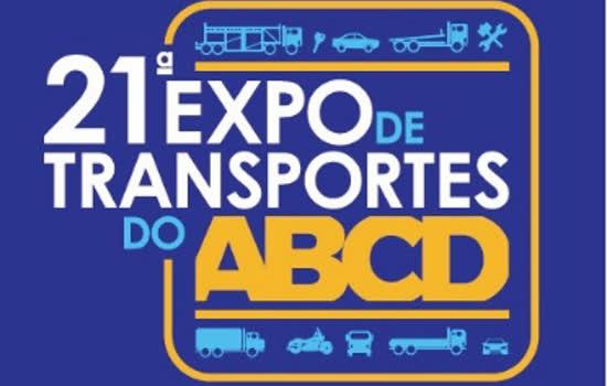 A 21ª edição da Expo de Transportes do ABCD, promovida pelo Sindicato Nacional dos Cegonheiros – SINACEG, acontece no próximo dia 19.