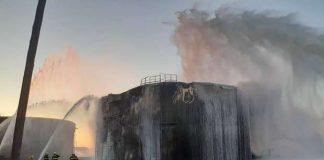Um incêndio no reservatório de contenção, atingiu a Refinaria Henrique Lage (Revap), daPetrobrás, em São Paulo. Ao todo, foram mobilizadas