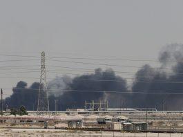 Os preços do petróleo subiram 18% ontem em razão de ataque sofridos pela Arabia Saudita. O país recebeu uma onda de ataques com drones no fim de semana.