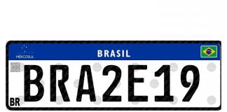 A quarta versão da placa Mercosul, válida a partir de 26 de agosto, teve duas mudanças para simplificar a confecção. Dessa forma, o Contran