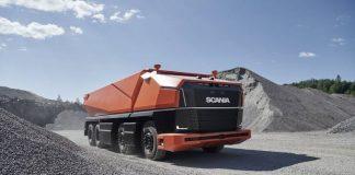 A Scania apresentou nesta terça-feira (24) um conceito de caminhão autônomo sem cabine. O modelo já tem nome: AXL. Desenvolvido para operar em minas