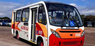 A Neobus desenvolveu um micro-ônibus especialmente para atender a região de Petrópolis - Rio de Janeiro. Trata-se de um modelo Thunder