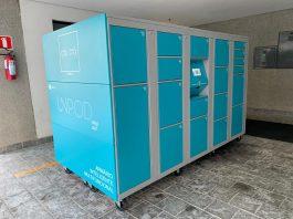 A startup brasileira Unpark lançou na Fenatran o primeiro armário inteligente móvel e 100% digital do país. A empresa é focada em