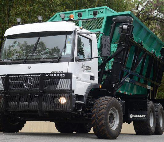 A Mercedes-Benz será a primeira a disponibilizar um caminhão com direção autônoma para test-drive na Fenatran 2019. Fruto da parceria entre Mercedes-Benz
