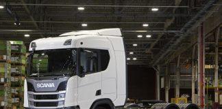 A Scania demostrou na Fenatran 2019, resultados positivos de testes com caminhões movidos à GNV (gás natural ou biometano).