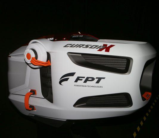 A FPT Industrial apresentou na Fenatran o Powertrain do futuro: O Cursor X.O motor conceitual foi projetado pela equipe de Desenvolvimento de Produto