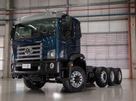 A Volkswagen Caminhões e ônibus apresentou, na 22ª edição da Fenatran, o novo Constellation 17.260 8x2 Compactor, aumentando sua presença