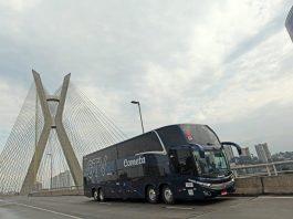O Grupo JCA, das Viações Cometa, Catarinense e 1001 acaba de adquirir 140 ônibus. Desses, serão 60 Double Deck, para renovação da frota de suas empresas.