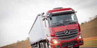A Mercedes-benz lançou na 22ª edição da Fenatran o novo Actros. Agora, a linha mais conhecida da marca alemã conta com o motor OM 471 e ate 530 cv.
