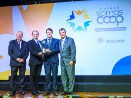 A Coopercarga recebeu o Prêmio SomosCoop - Excelência em Gestão, no qual a cooperativa alcançou o nível Prata. A premiação foi entregue na noite de ontem,