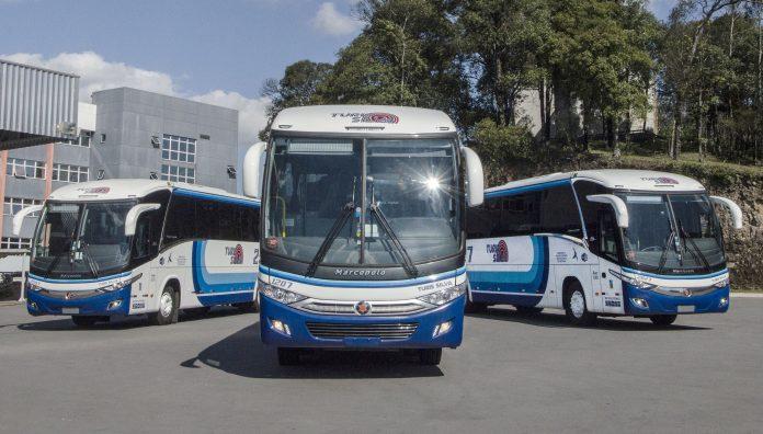 A Turis Silva Transportes adquiriu 15 novos ônibus da Marcopolo. A empresa que comemora 30 anos de atividades em 2019, realizou a compra dos modelos