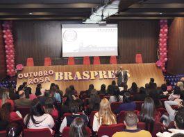 A Braspress realizou este mês mês a campanha do Outubro Rosa. Uma das mais importantes empresas de distribuição de encomendas