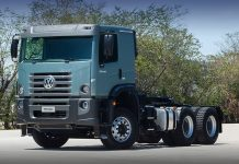 O novoVW Constellation 33.440 Tractor conta agora com cabine estendida. O modelo une a robustez do chassi MAN e a consagrada cabine da família