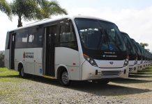 A Norte Buss Transporte S.A. adquiriu 12 novos micro-ônibus NEOBUS Thunder +. Os veículos serão utilizados no sistema de transporte público