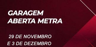 """Nesta sexta e no próximo dia 3 de dezembro, a Metra realiza mais uma edição do """"Garagem Aberta"""". O evento reúne clientes e fãs interessados em conhecer a empresa"""