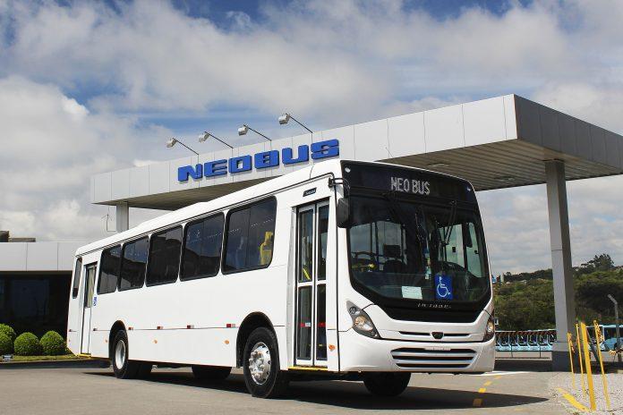 Neobus vende oito New Megas para Sustentare Saneamento S/A