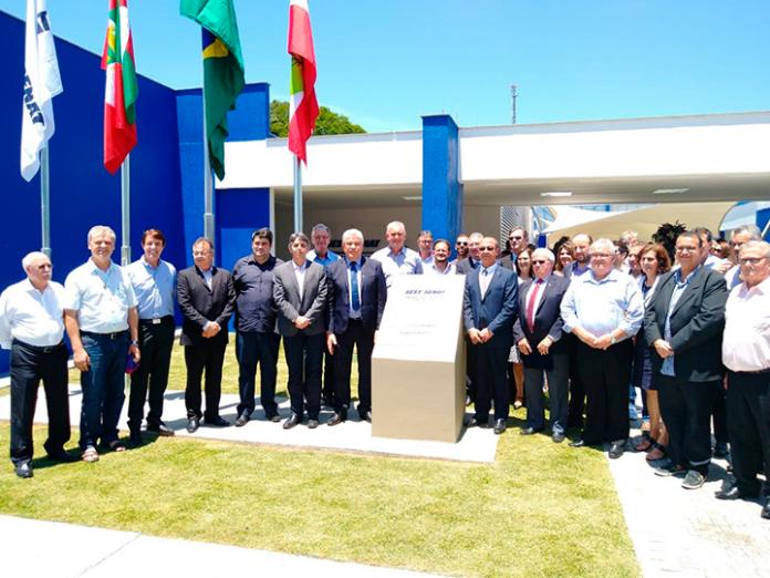 O Serviço Social do Transporte e Serviço Nacional de Aprendizagem do Transporte (Sest Senat) inaugurou, na quinta-feira, dia 21, uma nova estrutura em Concórdia