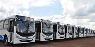 A Volkswagen caminhões e ônibus acaba de vender 10 Volksbus 17.210 para a operadora Sol Atlântico em Cabo Verde, na África. A negociação reforça