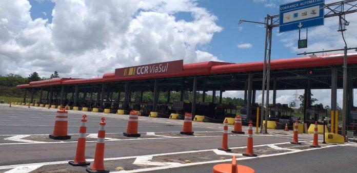 Nova praça de pedágio na Freeway deve entrar em operação em agosto