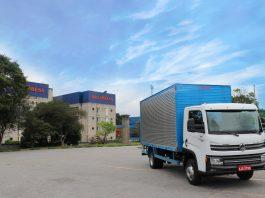 A Braspress, empresa de transporte de encomendas e uma das vencedoras do top do transporte em 2019, deu início ao período de testes com um caminhão