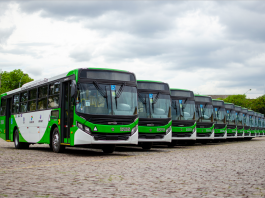 A Volkswagen Caminhões e ônibus acaba de entregar 125 ônibus ao Consórcio Urbcamp em Campinas, São Paulo. As unidades vão renovar a frota e atender