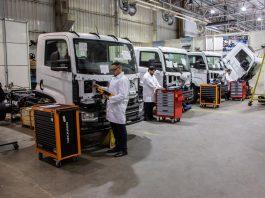A VW Caminhões e Ônibus anunciou nesta quarta-feira (4) o investimento de R$ 110,8 milhões para a expansão do negócio de caminhões elétricos no Brasil