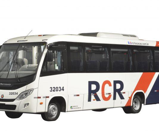 A RCR Locação Ltda. recebeu em dezembro 21 micro-ônibus Marcopolo New Senior. Os veículos serão os primeiros do novo modelo que entram em operação no Estado