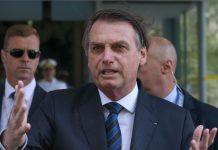 O presidente Jair Bolsonaro disse ontem (15), em Brasília, que está discutindo a possibilidade de revogação de norma da Agência Nacional do Petróleo