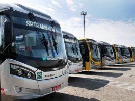 Em razão da redução do número de passageiros, a SPTrans, que administra os ônibus da capital paulista, decidiu fazer ajustes e reduzir a frota de ônibus