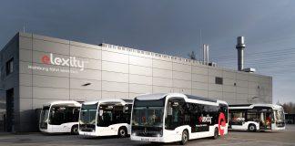 A Daimler Buses acaba de entregar 16 ônibus elétricos eCitaro da Mercedes-Benz para a empresa VHH (Verkehrsbetriebe Hamburg-Holstein GmbH)