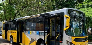 A empresa paulistana Sancetur, nova responsável pelo transporte público municipal de Limeira, adquiriu 120 unidades do ônibus urbano Apache Vip marca Caio