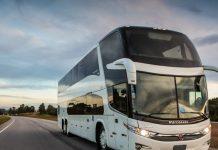 o total de ônibus emplacados em julho deste ano cresceu 45,62% em julho deste ano na comparação com junho